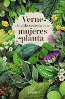 reseña del libro verne y el secreto de las mujeres planta