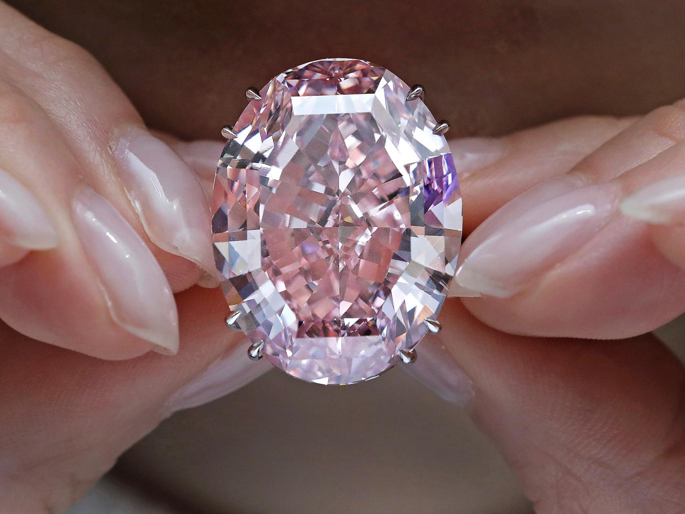 The Pink Star diamond which sold for £57m: The Independent