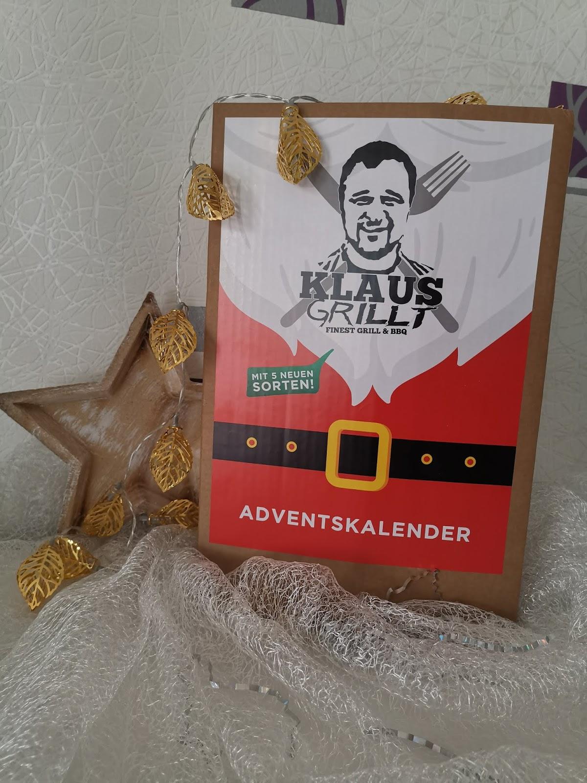 Klaus grillt adventskalender