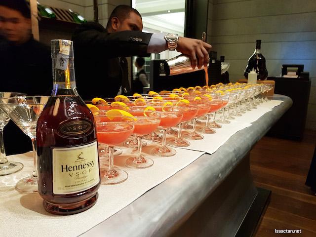 A wonderful night with Hennessy at St Regis Kuala Lumpur