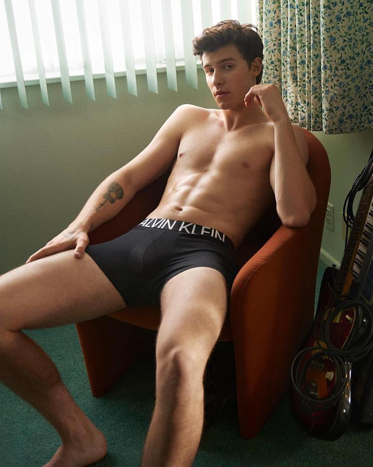 Shawn Mendes - Calvin Klein Underwear My Calvins Spring Summer 2019 ad campaign photo shoot