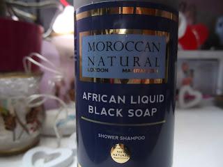 Moroccan Natural Tekuté africké čierne mydlo