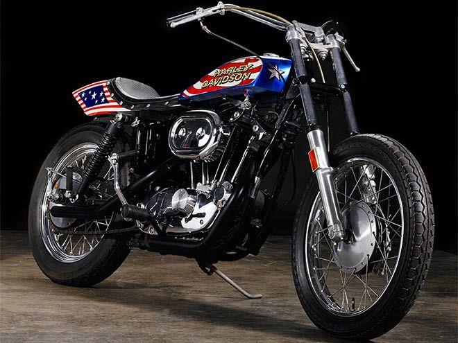 Evel Knievel Harley Davidson Xl1000: DUECILINDRI: Evel Knievel Xr750