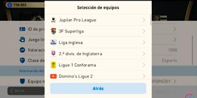 PES 2020 Mobile Patch 4.4 Copa Libertadores Ligas Sudamericanas