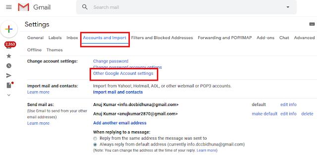 email hack ho jaye to kya kare