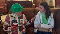 Catholic's Key Club Celebrates St. Patrick's Day at Wesley Gardens in Montgomery 2