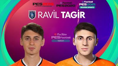 PES 2021 Faces Ravil Tagir by PES Football Turkey
