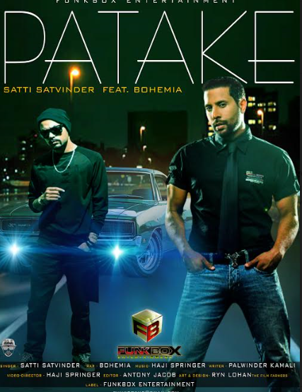 Punjabi Rap King Bohemia and Folk singer Satti Satvinder meet for 'Patake'