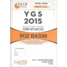 Çanta Yayınları YGS 2015 Soru Kitapçığı İkiz Basım