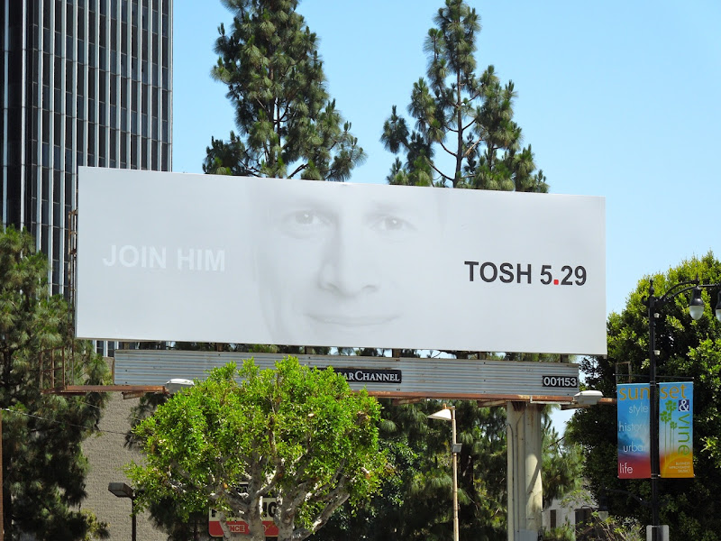 Tosh season 4 billboard