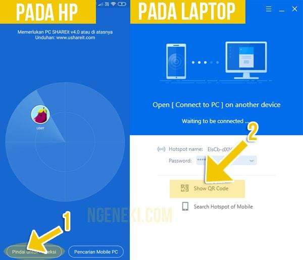 Cara Mengirim File dari HP Android ke Laptop Tanpa Kabel Data