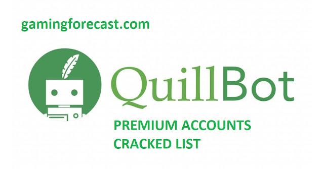 quillbot premium accounts list