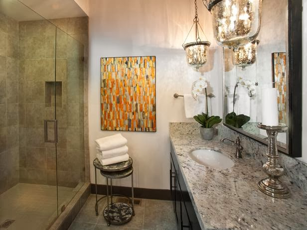 Modern Furniture Hgtv Dream Home 2014 Guest Bathroom