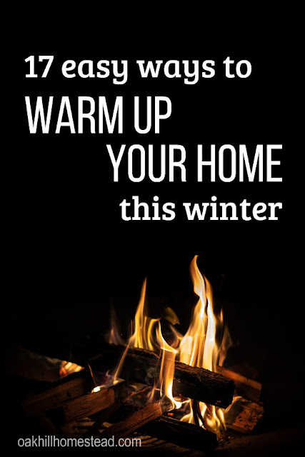 How to keep your home warm and cozy this winter without paying a fortune to the power company.