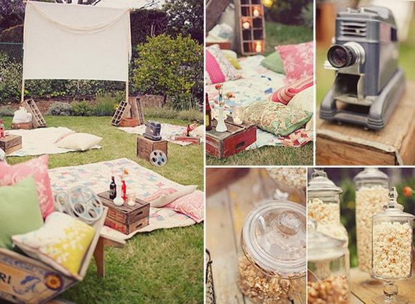 Easy DIY Outdoor Cinema in The Garden - Home Garden Cinema 5