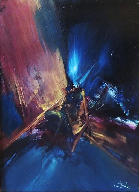 Manuel Viola pintura abstracta óleo