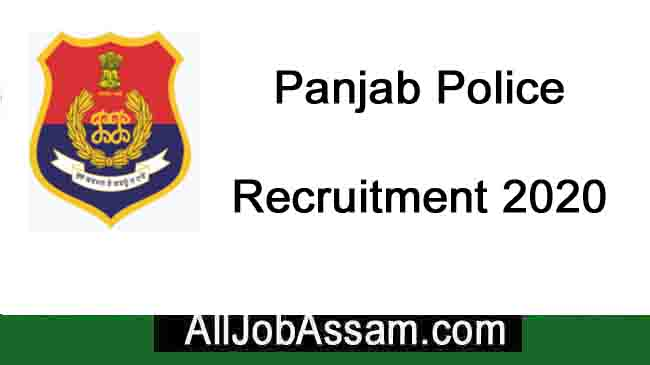Punjab Police Recruitment 2020