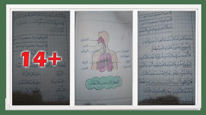 كراس التربية العلمية للسنة الرابعة ابتدائي