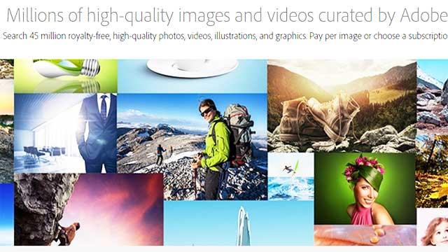 شركة Adobe تقدم الآف الصور بجودة عالية مع مفتاح الترخيص مجاناَ
