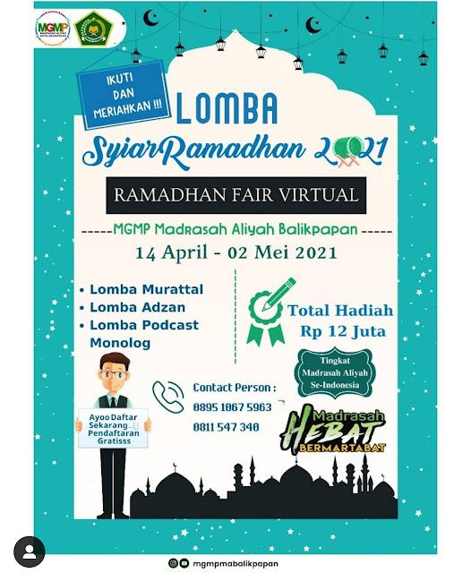 lomba Semarak Syiar Ramadan 1442 H