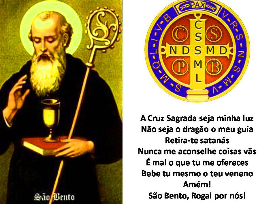 Oração da medalha da cruz de São Bento