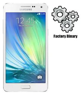 Samsung Galaxy A5 SM-A500W Combination Firmware
