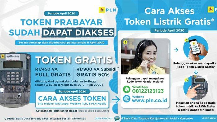 Cara klaim token listrik PLN gratis dari Whatsapp
