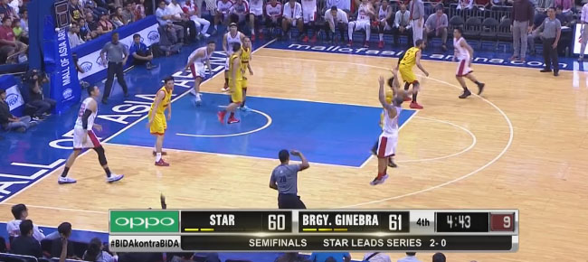 HIGHLIGHTS: Ginebra vs. Star Hotshots (VIDEO) February 13 / Semis Game 3