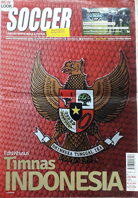 TABLOID SOCCER: EDISI KHUSUS TIMNAS INDONESIA