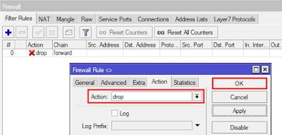 Cara Blokir Situs MikroTik Layer7