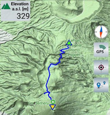 Aplikasi GPS Offline Untuk Pendaki