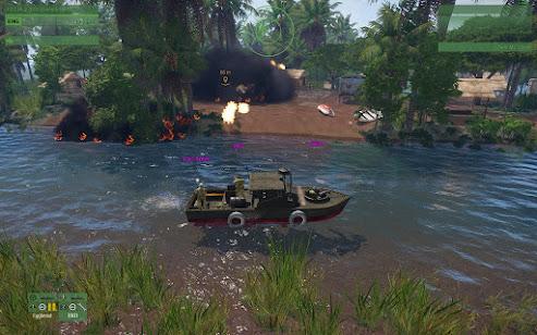 Arma3用Unsungベトナム戦争MODの河川哨戒艇