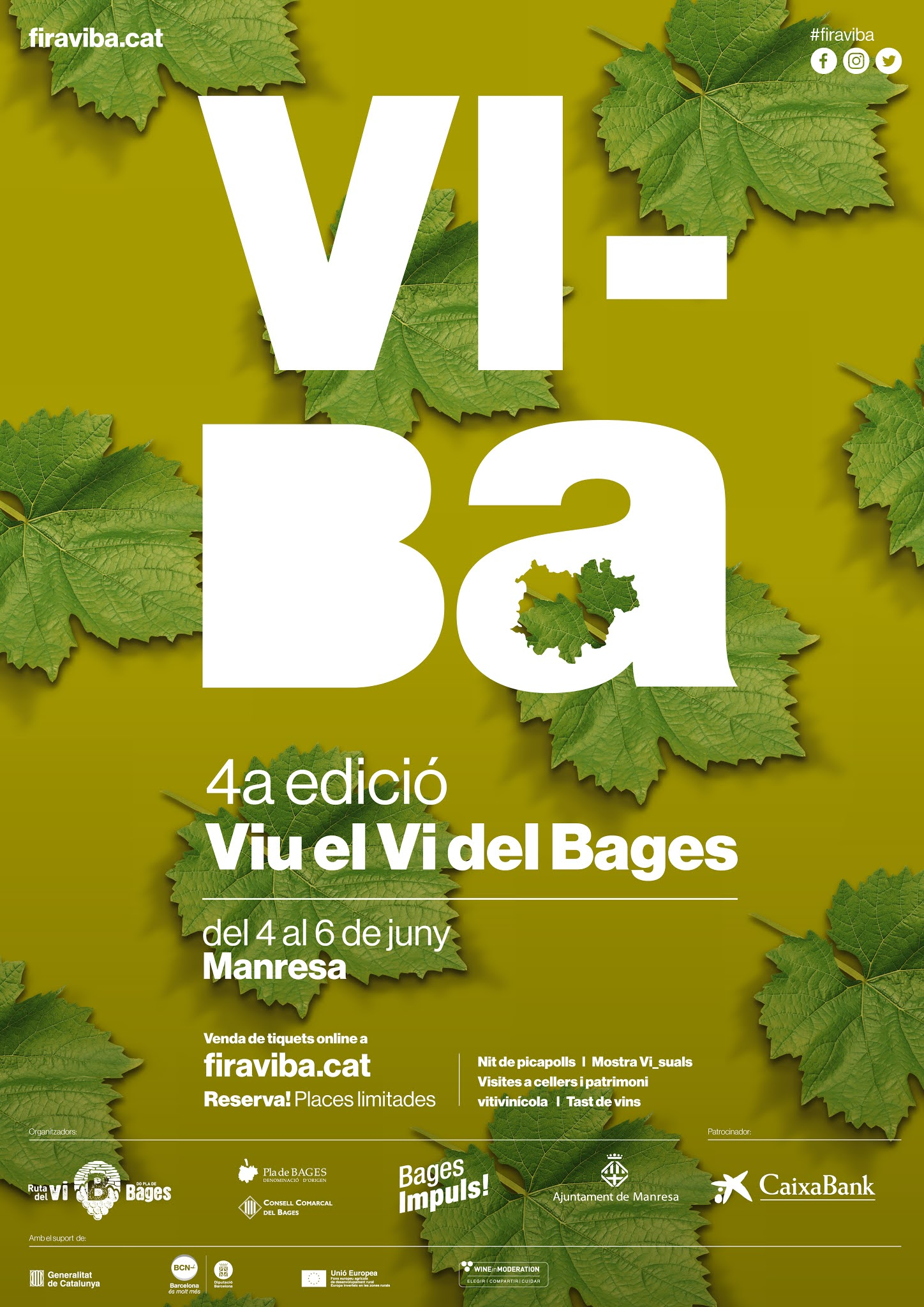 Del 4 al 6 de juny viu el Vi del Bages a la fira ViBa