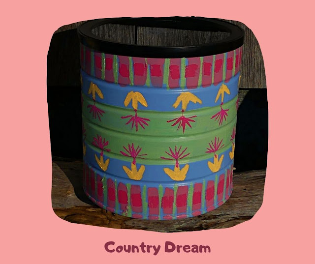 Country Dream Pot by Minaz Jantz