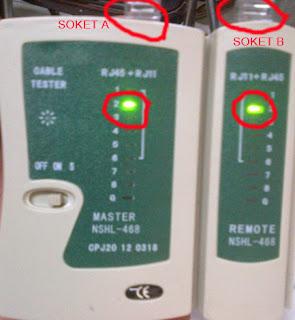 cara mengetahui koneksi sambungan LAN