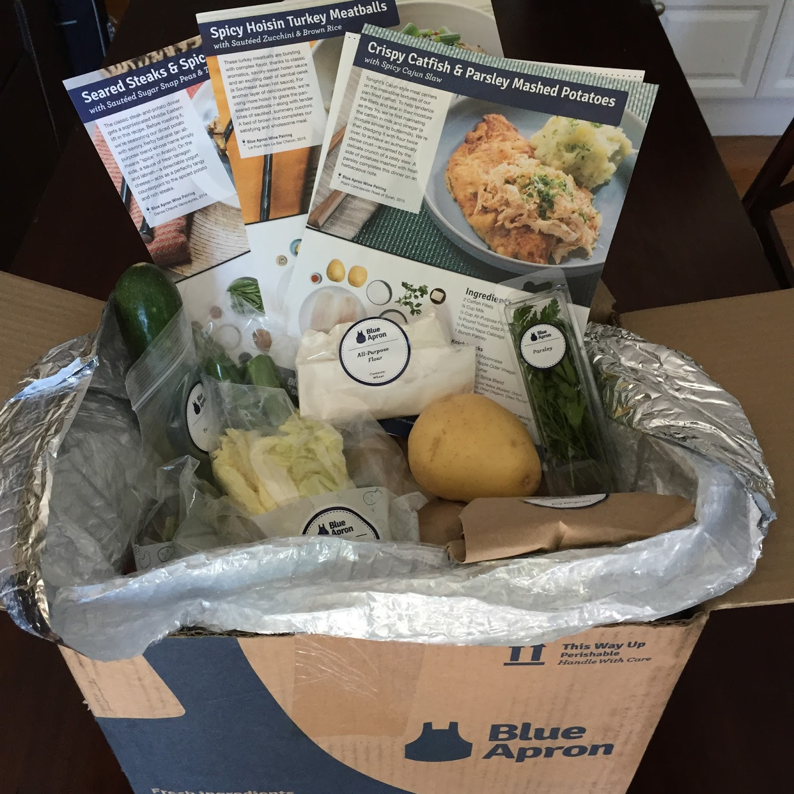 Blue apron example meals