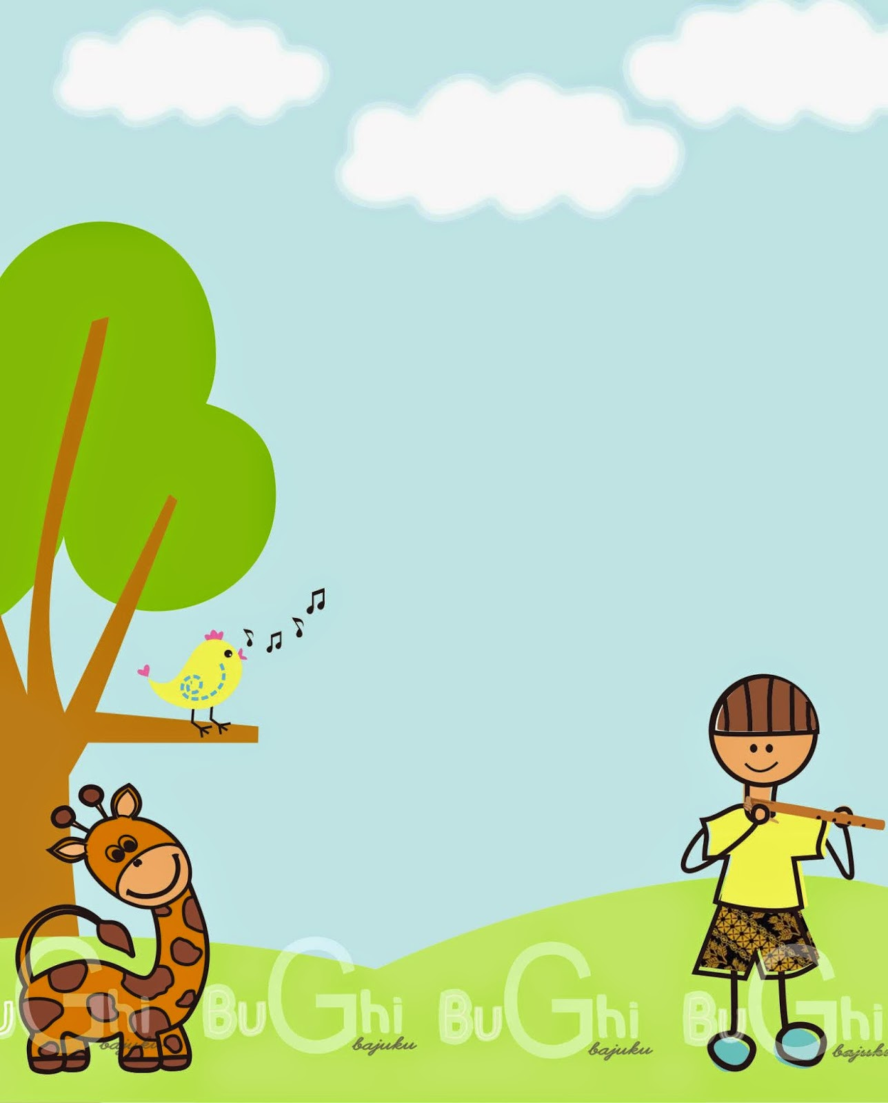 Gambar Background Untuk Anak Tk Foto Manasik Haji 25x3m Lucu Pro