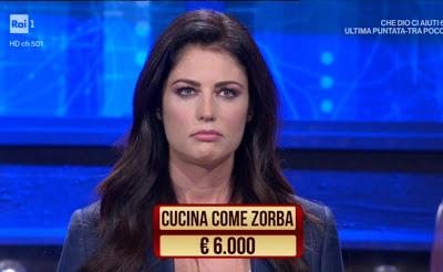 Daniela Ferolla foto viso imbronciato i soliti ignoti 11 marzo