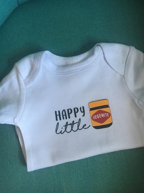 Happy Little Vegemite Onesie