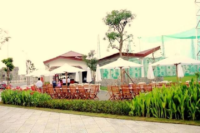 Nhà hàng Vĩnh Lợi tại Vinhomes Riverside Long Biên.