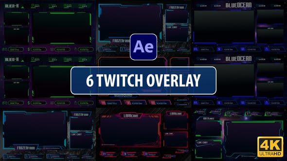 Twitch Overlay Stream   [Videohive][After Effects][28995920]