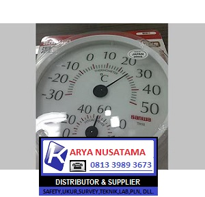 Jual Hygrometer Analog Sanwa TH10 di Surabaya