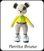 Perrito Bruno Amigurumi