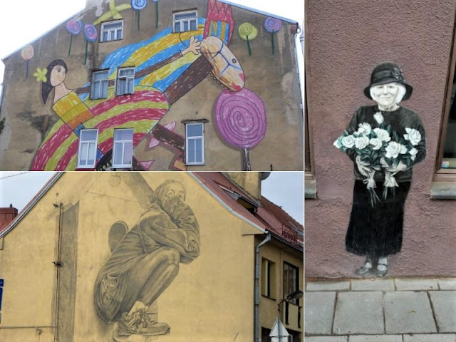 murales centro storico kaunas