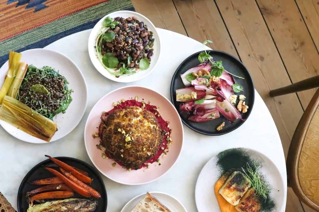 Brown lentil salad with yogurt new recipe