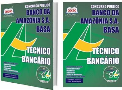 Apostila Banco da Amazônia - Basa Técnico Bancário
