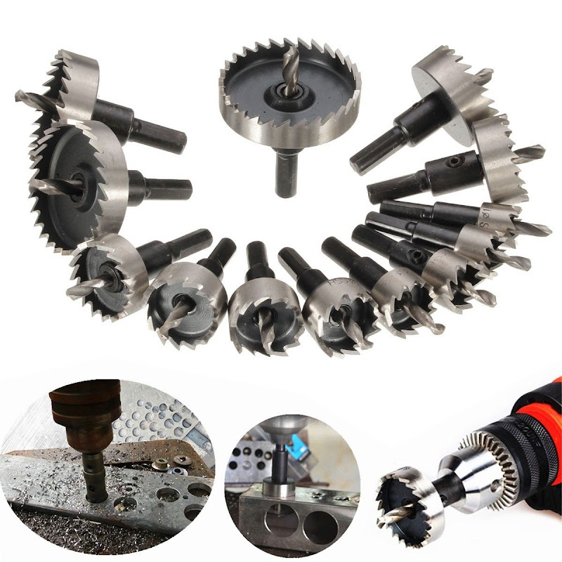 AMAZON - 40%OFF DRILLPRO 13Pcs Hole Saw Kit