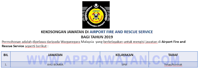 Airport Fire and Rescue Service (AFRS)
