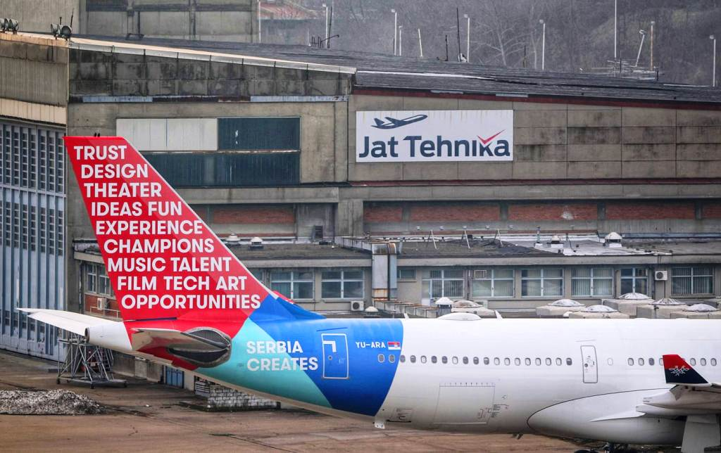 Air Serbia unveils special livery
