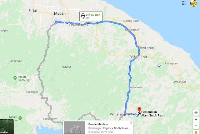 Pemandian Alam Sejuk Pas, Dolok Hataran, Siantar, Dolok Hataran, Kec. Siantar, Kabupaten Simalungun, Sumatera Utara 21174